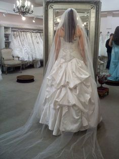 How to bustle a wedding dress train by myself the austrian bustle wedding alterations bustle hem solutioingenieria Image collections