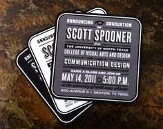 I'm embarrassed that I didn't think of this when I graduated. Also, woah, Scott Spooner?