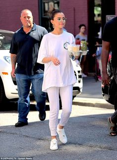 No drama! Selena Gomez seemed to have put her Instagram hack drama behind her as she headed out to grab breakfast in New York City while celebrating Labor Day on Monday