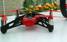 Parrot Mini Drones can fly, roll, and even jump.