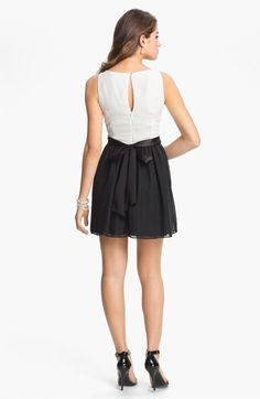 $62 Trixxi Satin Tank Dress (Juniors) | Nordstrom Formal Fashion, Feminine Dress, Chiffon Skirt, Junior Dresses, Nordstrom Dresses, Tank Dress, Skater Skirt, Bodice, Satin