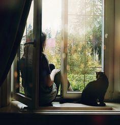 A quiet window seat.