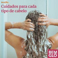 Vem aprender a conhecer mais o seu tipo de cabelo e o que você deve fazer na hora de lavá-lo e arrumá-lo. Confira a editoria Estilo desta semana! :)