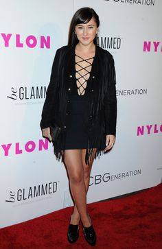 ZELDA WILLIAMS at Nylon Young Hollywood Party in Hollywood