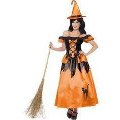 Costume femme sorcière de contes