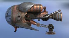 Steampunk Spaceship