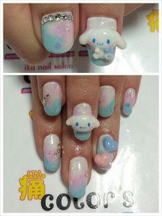 シナモンロール : Character nail art