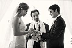 Jewish Bride Gives The Groom A Ring | The Big Fat Jewish Wedding