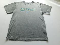 Nike University of Delaware Mens T Shirt Size Small S Team Short Sleeve NCAA  #Nike #BasicTee