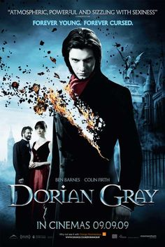 Dorian Gray  Genre:Drama, Fantasy, Thriller Rating: Runtime:1 hour 52 minutes On iTunes: for $14.99 Based on The Picture of Dorian Gray, the story centers on Gray (Barnes), a young man who becomes the subject of a painting. As the man descends into a hedonistic lifestyle, the portrait begins to age and morph, but he doesn't. Firth plays Lord Henry Wotton, the aristocrat who corrupts Gray with his worldview.