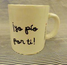 Tazas sublimadas, $50 en http://ofeliafeliz.com.ar