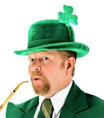 St Patrick's Day Costume Characters available via KruTalent Int. T: 0207 610 7120 E: bookings@krutalent.com