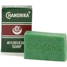 Ajurwedyjskie mydło ziołowe Chandrika cena 7 zł http://zielonysklep.com/pl/kosmetyki/ajurwedyjskie-mydlo-ziolowe-chandrika
