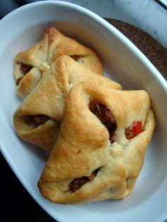 Tempeh sausage pastries - based on the Vegan Brunch recipe