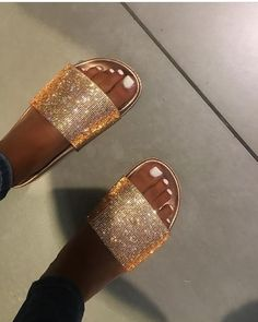 1708aa4009c9 Chanelle x rosegold🍭 Shop Women s mystyle Gold size Various Sandals at a  discounted price at Poshmark. Description  Brand new bling bling rosegold  diamond ...