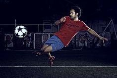 Football Action and Portraiture by neil burton, via Behance