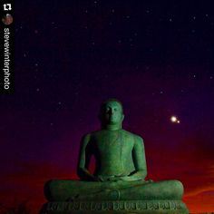 Amazing capture by @stevewinterphoto with #stockphotolk  @stevewinterphoto @natgeo This was shot for my upcoming @natgeo Leopard story in the Dec 2015 issue of National Geographic Magazine.  This Buddha mediates over the buffer zone of Yala National Park. While I was waiting for permission to place camera traps in the park I met the Abbot of the local monastery  as he controls the buffer zone and told me thru an interpreter that they commonly saw leopards sitting on the large granite hills…