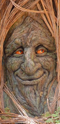 70 Ideas For Wood Carving Faces Awesome Green Man Tree Faces, Tree People, Illustration Noel, Tree Carving, 3d Fantasy, Wood Sculpture, Metal Sculptures, Abstract Sculpture, Bronze Sculpture