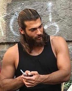 Turkish Men, Turkish Actors, Hot Cowboys, How To Look Handsome, Handsome Man, Big Men, Book Characters, Male Beauty, Gorgeous Men