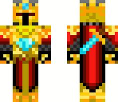 Minecraft skins from the Skindex