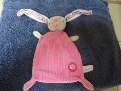 Doudou Rabbit Flat Cords Rose Brode Chick Nicotoy Simba • EUR 14.50 - PicClick…