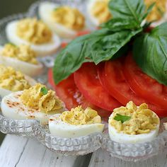 With a Grateful Prayer and a Thankful Heart: Deviled Eggs
