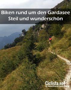 Mit dem Mountainbike am Gardasee - steil und wunderschön!  #MTB #Mountainbike #Gardasee #Italien #Italia #Italy #LagodiGarda #Cycling #Bike