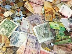 Photo about A big mix of various currencies all mixed together bills notes coins from all around the world. Image of currency, around, currencies - 82230626 Travel Europe, Coins, World, Big, Image, The World, Peace