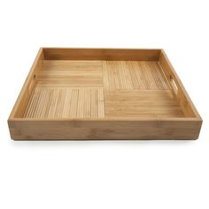 Found it at Wayfair - Criss-Cross Square Serving Tray