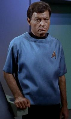 """""""What do you mean what sort of work?? I'm a doctor."""" (TOS: """"This Side of Paradise"""")"""