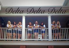 Delta Delta Delta, Tri Delta, Greek, Sorority, Rush, Recruitment, Mississippi State University @sororityplease