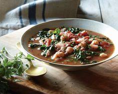 Tuscan Bean Soup Recipe gailmencini.com