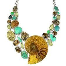 Farb-und Stilberatung mit www.farben-reich.com - ammonite jewelry