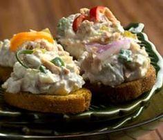 Festive Tuna Spread | #chickenofthesea #tuna #spread #appetizer
