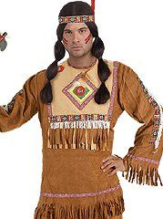 Indian Man Native American Costume