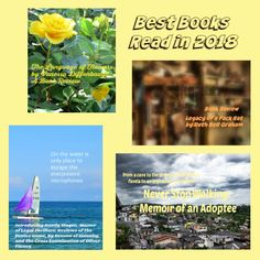Best Books Read in 2018 and First Books in 2019 – Bookworm Buffet Good Books, My Books, Best Track, Murder Mysteries, Im Trying, Book Reviews, Memoirs, Book Worms, Thoughts