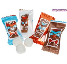 Tiki Head Mints - i have no idea how i could possibly use 600 of these but i want them really badly!