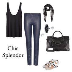 """Chic splendor"" by chic-splendor on Polyvore featuring Fendi, Balenciaga, The Row, STOULS, Chanel, Yves Saint Laurent and Ivanka Trump"