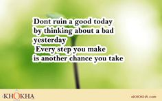 Dont ruin good today...