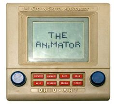 I really tried to love the Etch a Sketch Animator when I was little but I could not get the programs to work :( Still entertaining though