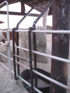 Maria Siebrand's hay feeder