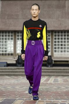 Kenzo Menswear Spring Summer 2018 Collection in Paris