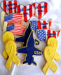Military cookies -deployment, homecoming, retirement, promotion...endless possibilities!