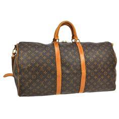 Louis Vuitton Keepall 55 til salgs (enn så lenge) på parishtexas.no. Alt vi selger er autentisk.