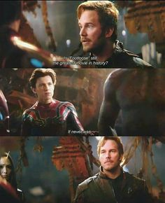 Starlord looks so done with earth and he hasn't lived there in 20something years