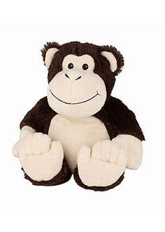 Super zachte magnetron knuffel in de vorm van een aap. Na 90 seconden in de…