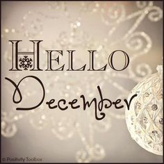 Hello December - Sparkle my Day - Dezember Merry Christmas, Christmas Quotes, First Christmas, All Things Christmas, Winter Christmas, Christmas Holidays, Christmas Cards, Happy Holidays, Christmas Feeling