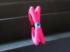 Blinker rosa con brillantino