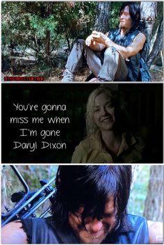 His heart is broken. TWD. The Walking Dead. Bethyl. Deth. Daryl Dixon. Beth Greene.