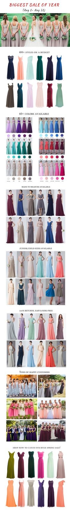 Crazy Summer Sale on ALL FHFH Bridesmaid Dresses! ONLY IN AUGUST! https://twitter.com/faefmgaifnae/status/895102947775750144